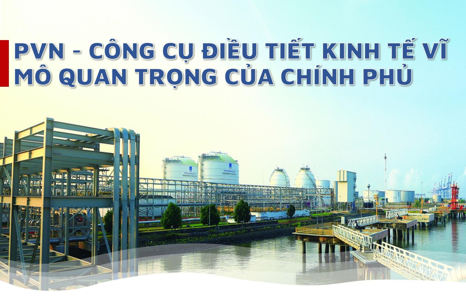 [E-magazine] PVN - Công cụ điều tiết kinh tế vĩ mô quan trọng của Chính phủ