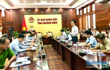 Bàn phương án cách ly hơn 1.000 chuyên gia nước ngoài đến làm việc tại Quảng Ngãi