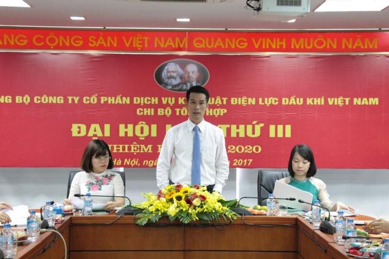 chi bo tong hop pvps to chuc dai hoi lan thu iii nhiem ky 2017 2020