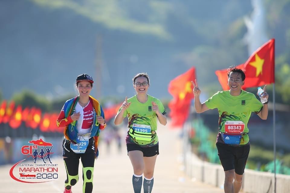 clb viet da bsr tham du giai marathon tien phong 2020