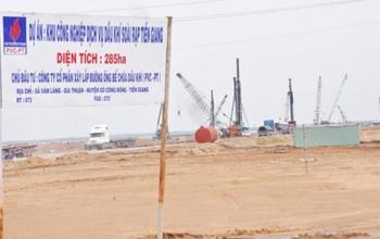 Tạo điều kiện đưa Dự án KCN Dịch vụ Dầu khí Soài Rạp vào khai thác