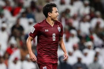 """Ngôi sao Thitipan: """"Thua Việt Nam ở King's Cup là tốt cho Thái Lan"""""""