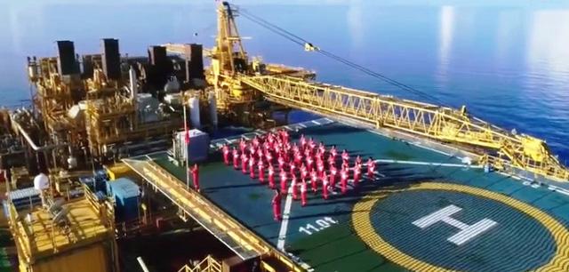 Tết Độc lập trên giàn khoan dầu khí giữa lòng Biển Đông - Ảnh 1.