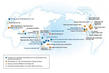 Công ty Osaka Gas (Nhật Bản) nhắm đến khu vực Đông Nam Á