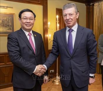 Việt Nam - Liên bang Nga hợp tác các dự án dầu khí, năng lượng mới