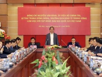 [PetroTimesTV] Trưởng ban Kinh tế Trung ương Nguyễn Văn Bình làm việc với Tập đoàn Dầu khí Việt Nam