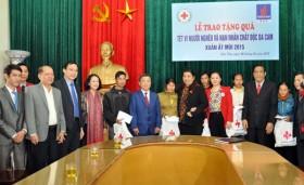 BSR trao quà cho gia đình chính sách tỉnh Hà Tĩnh