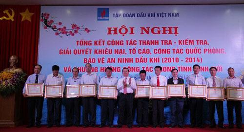 PVN trong 5 năm thực hiện công tác thanh tra, bảo vệ an ninh dầu khí