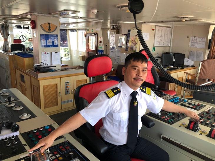 Thuyền trưởng Bùi Phú Cường