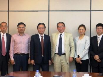 Tổng giám đốc Petrovietnam tiếp lãnh đạo Trung tâm Hợp tác Dầu mỏ Nhật Bản