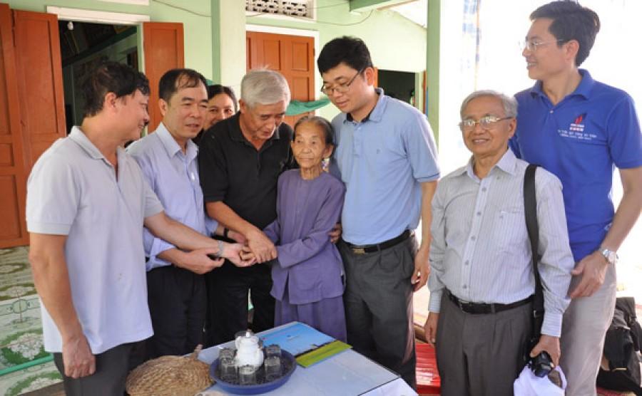 VPA và BSR thực hiện an sinh xã hội tại đảo Lý Sơn