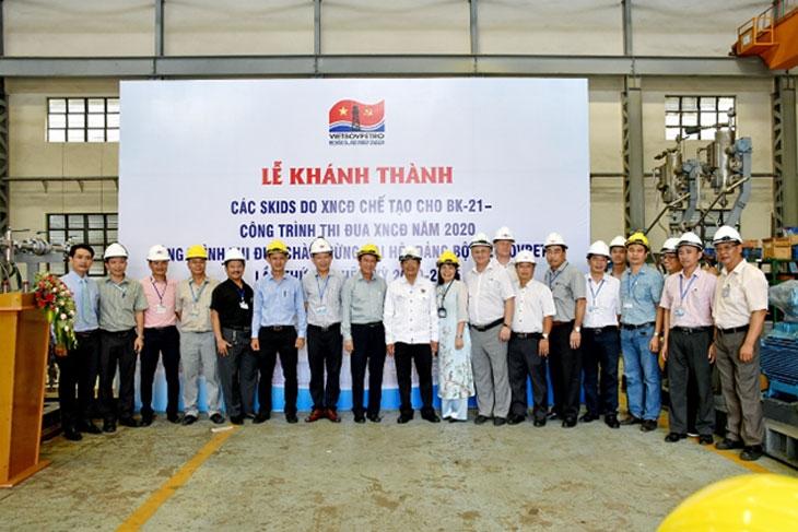 Về Dự án giàn đầu giếng BK21- Công trình chào mừng Đại hội đại biểu toàn quốc lần thứ XIII của Đảng