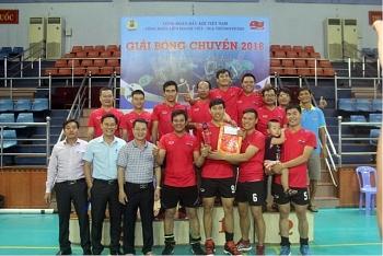 Công đoàn Vietsovpetro tổ chức giải bóng chuyền năm 2018