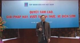 video clip pvn ve dich truoc san luong khai thac dau