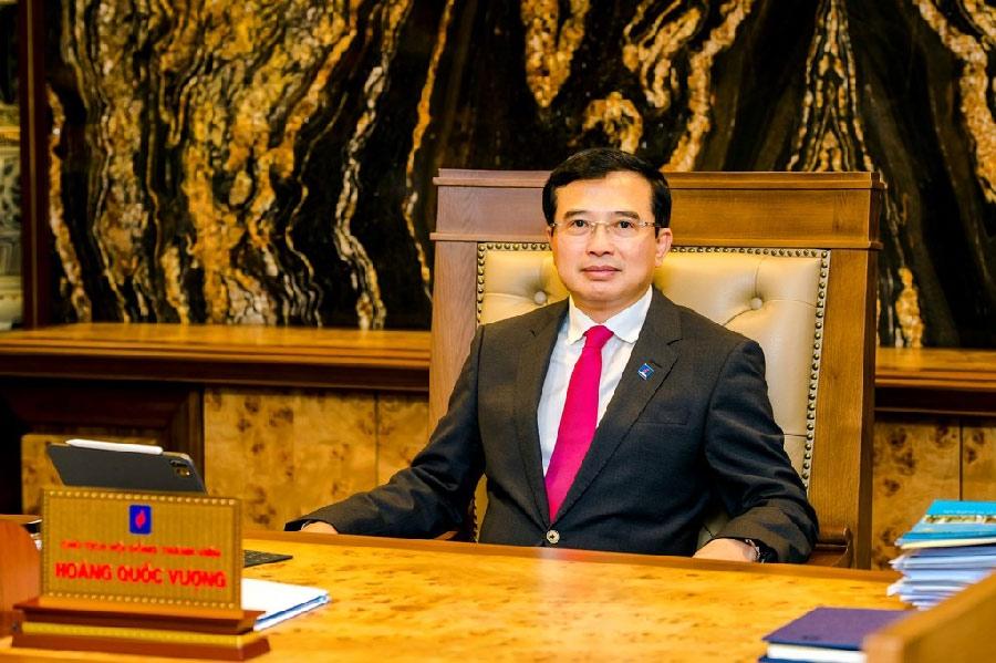 Chủ tịch Hội đồng Thành viên Tập đoàn Dầu khí Quốc gia Việt Nam Hoàng Quốc Vượng: