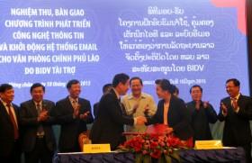 BIDV hỗ trợ phát triển hệ thống Công nghệ thông tin cho Văn phòng Chính phủ Lào