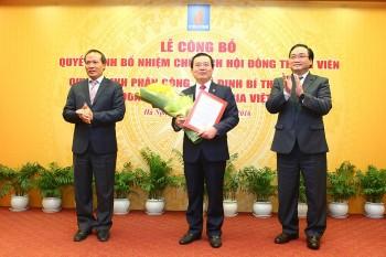 Công bố Quyết định bổ nhiệm Chủ tịch HĐTV Tập đoàn Dầu khí Việt Nam