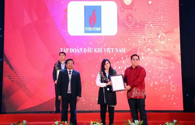 pvn duoc vinh danh doanh nghiep viet nam xuat sac nam 2017