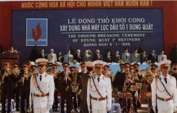 Kỷ niệm 21 năm Lễ động thổ xây dựng Nhà máy lọc dầu số 1 - Dung Quất