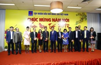Tập đoàn Dầu khí Việt Nam gặp mặt đầu năm mới