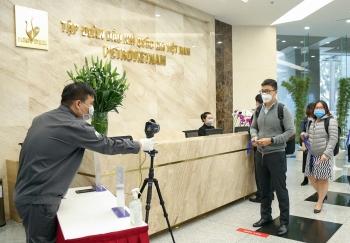Phòng, chống dịch bệnh viêm đường hô hấp cấp do virus Corona tại trụ sở PVN