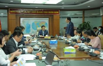 Tổng giám đốc Petrovietnam Lê Mạnh Hùng làm việc với PV Power