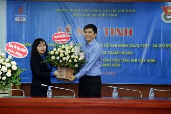 Đoàn Thanh niên VPI tổ chức Lễ kỷ niệm 88 năm Ngày thành lập Đoàn TNCS Hồ Chí Minh