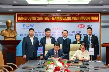 PV Power và HSBC Việt Nam ký hợp đồng hạn mức tín dụng ngắn hạn trị giá 1.400 tỷ đồng