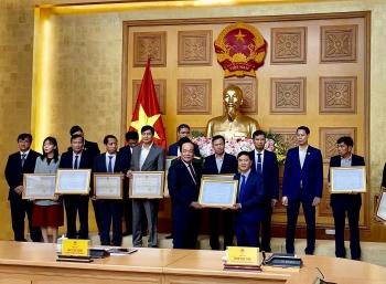 Tập đoàn Dầu khí Việt Nam nhận Bằng khen của Bộ trưởng, Chủ nhiệm Văn phòng Chính phủ