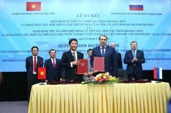 Việt - Nga ký kết Hiệp định Liên Chính phủ