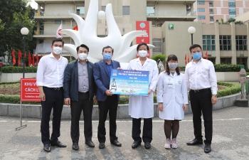PVEP chung tay hỗ trợ các bệnh viện tuyến đầu chống dịch Covid-19