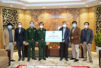 PVN trao hỗ trợ 500 triệu cho Bộ Tư lệnh Bộ đội Biên phòng