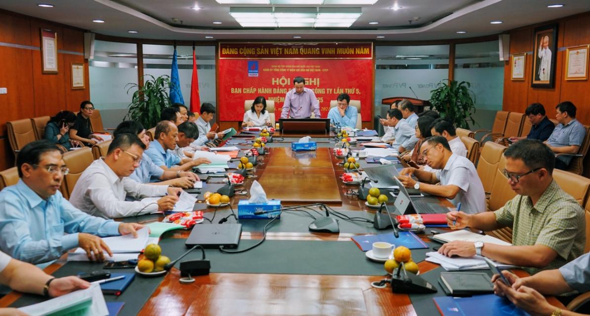 PV Power tổ chức Hội nghị Ban Chấp hành Đảng bộ lần thứ V, nhiệm kỳ 2020-2025