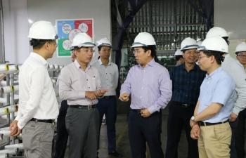 Phó Chủ tịch Ủy ban Quản lý vốn nhà nước tại doanh nghiệp làm việc với VNPOLY