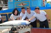 PVCFC xuất xưởng những lô hàng NPK Cà Mau đầu tiên