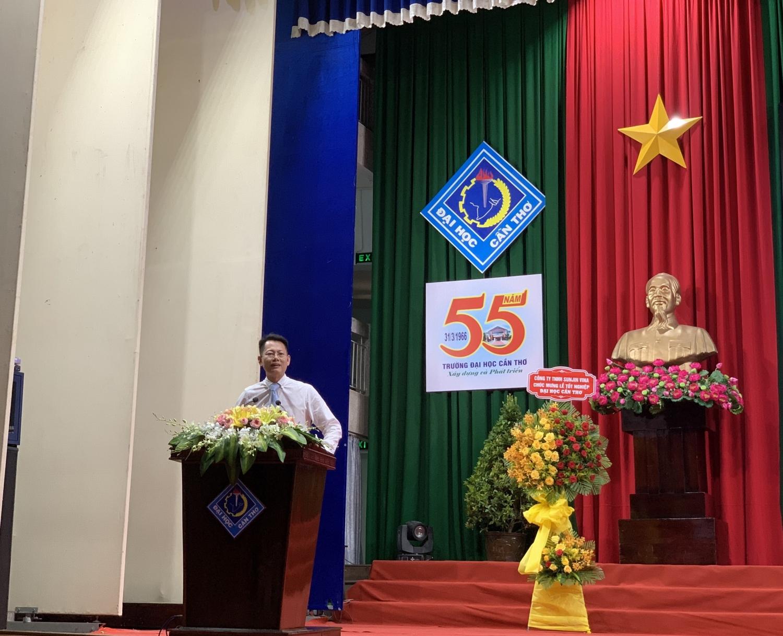 Phân bón Cà Mau trao học bổng cho sinh viên Khoa Nông nghiệp, Đại học Cần Thơ