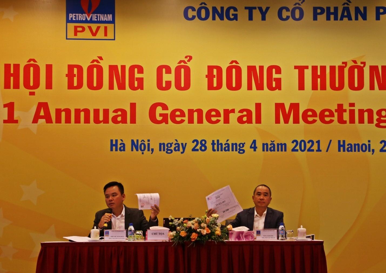 PVI tổ chức thành công Đại hội đồng cổ đông thường niên năm 2021