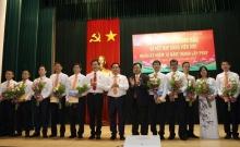 PVEP kết nạp đảng viên mới tại Lăng Chủ tịch Hồ Chí Minh