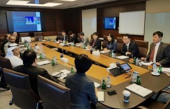 Việt Nam - UAE tăng cường thúc đẩy hợp tác trong lĩnh vực dầu khí