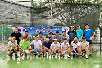 Kết quả môn tennis Hội thao Cơ quan Tập đoàn lần thứ I