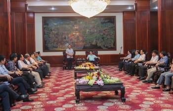 Lãnh đạo PVN làm việc với lãnh đạo tỉnh Phú Thọ