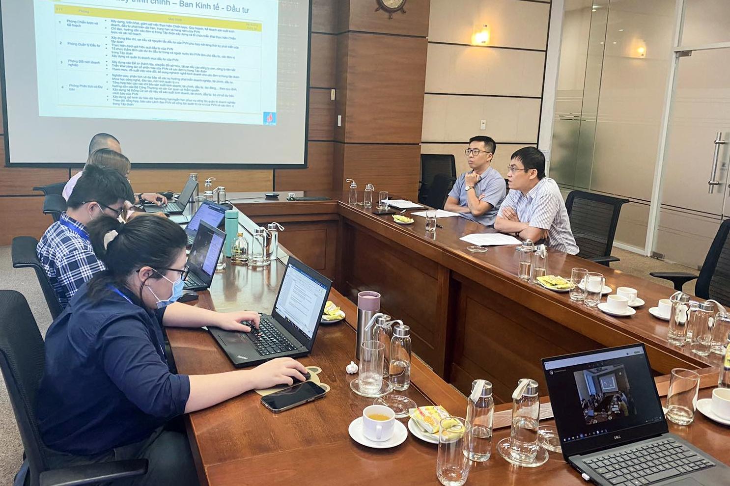 Xây dựng chiến lược chuyển đổi số ở Petrovietnam: Những kết quả bước đầu