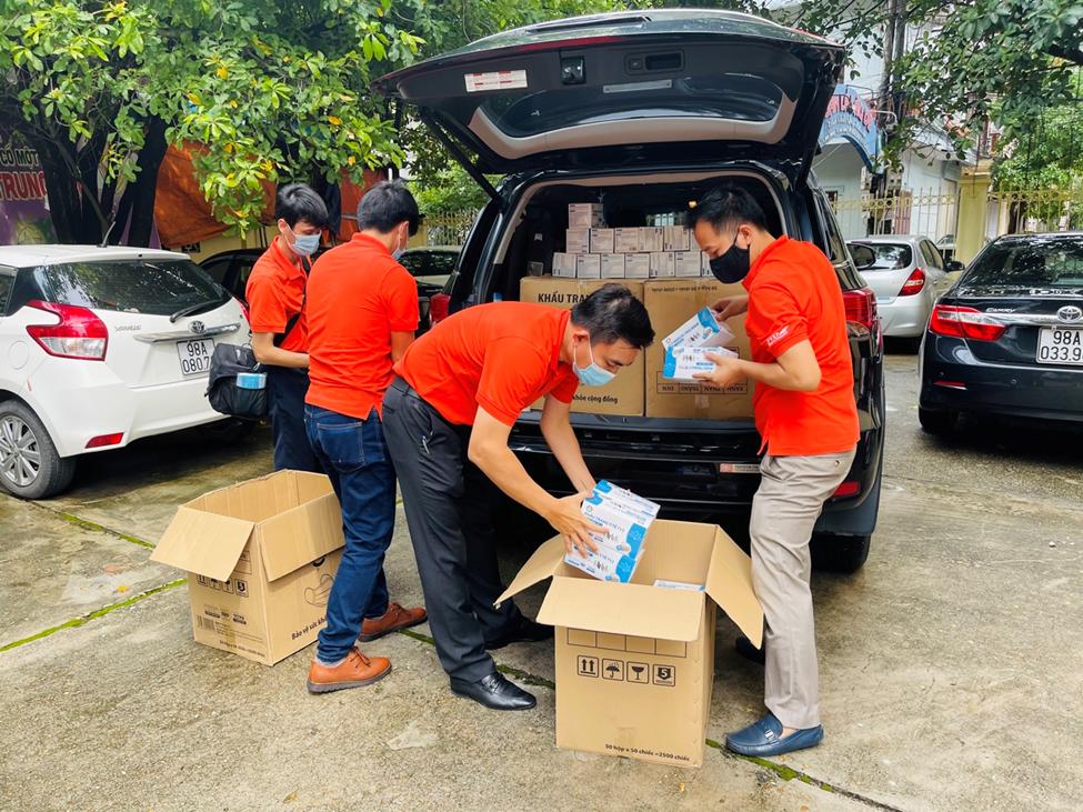 PVEP hỗ trợ y tế tuyến đầu phòng chống dịch Covid-19 tại tỉnh Bắc Giang