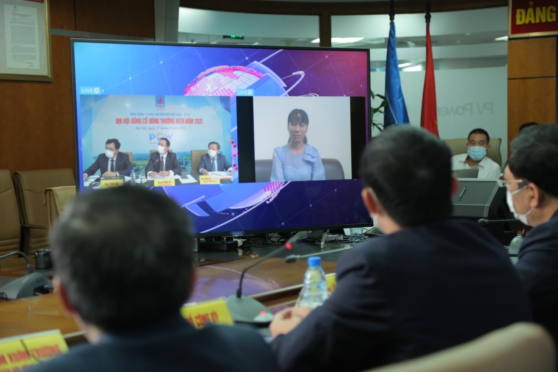 PV Power tổ chức thành công Đại hội đồng cổ đông thường niên trực tuyến năm 2021