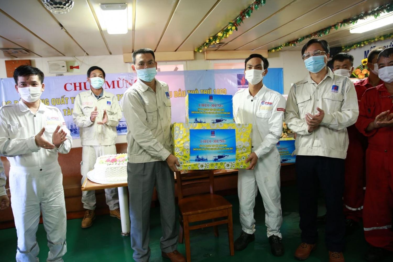 BSR đón chuyến dầu thô thứ 1.000 cho NMLD Dung Quất