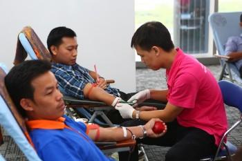 Tuổi trẻ Dầu khí tham gia Ngày hội hiến máu 2016