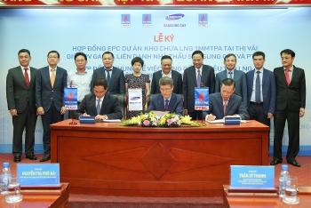 PV GAS ký kết các hợp đồng chuỗi dự án khí điện LNG Thị Vải - Nhơn Trạch