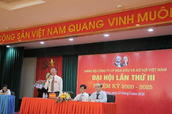 vnpoly to chuc thanh cong dai hoi dang bo nhiem ky 2020 2025