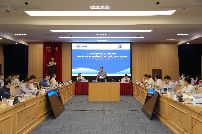 Tăng cường mối quan hệ hợp tác giữa Petrovietnam và EVN