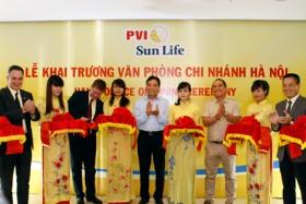 PVI Sun Life khai trương chi nhánh Hà Nội